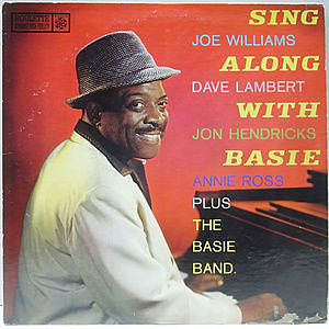 レコード画像:JOE WILLIAMS / DAVE LAMBERT / JON HENDRICKS / ANNIE ROSS / Sing Along With Basie