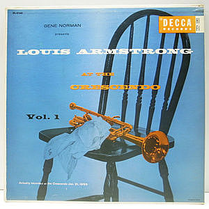 レコード画像:LOUIS ARMSTRONG / At The Crescendo Vol. 1