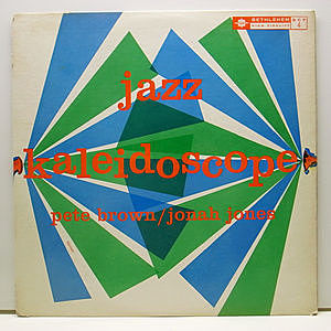 レコード画像:PETE BROWN / JONAH JONES / Jazz Kaleidoscope