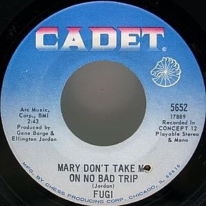 レコード画像:FUGI / Mary Don't Take Me On No Bad Trip