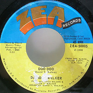 レコード画像:DAVID T. WALKER / Doo Doo / Love Vibrations