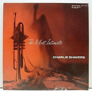 レコード画像:CHARLIE SHAVERS / The Most Intimate