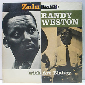 レコード画像:RANDY WESTON / ART BLAKEY / Zulu (Trio And Solo)