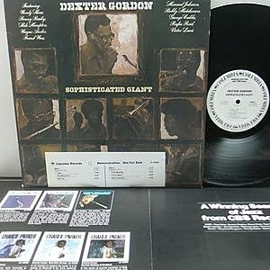 レコード画像:DEXTER GORDON / Sophisticated Giant