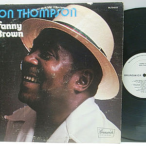 レコード画像:DON THOMPSON / Fanny Brown