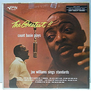 レコード画像:COUNT BASIE / JOE WILLIAMS / The Greatest!