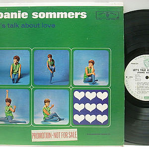 レコード画像:JOANIE SOMMERS / Let's Talk About Love