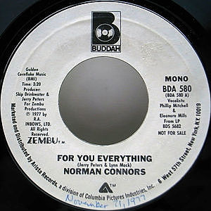 レコード画像:NORMAN CONNORS / For You Everything