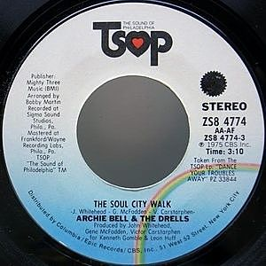 レコード画像:ARCHIE BELL & THE DRELLS / The Soul City Walk / King Of The Castle