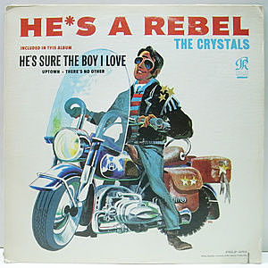 レコード画像:CRYSTALS / He's A Rebel