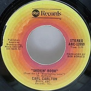 レコード画像:CARL CARLTON / Smokin' Room / Signed, Sealed, Delivered I'm Yours
