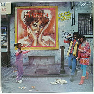 レコード画像:ARETHA FRANKLIN / Who's Zoomin' Who?