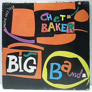 レコード画像:CHET BAKER / Big Band