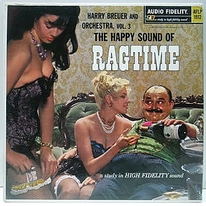 レコード画像:HARRY BREUER / The Happy Sound Of Ragtime