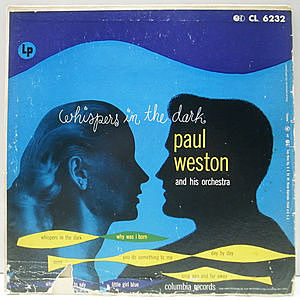 レコード画像:PAUL WESTON / Whispers In The Dark