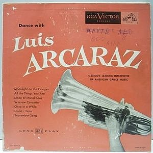 レコード画像:LUIS ARCARAZ / Dance With Luis Arcaraz