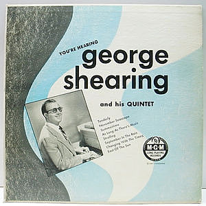 レコード画像:GEORGE SHEARING / You're Hearing