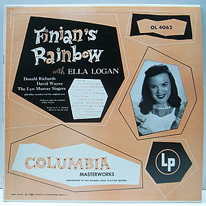 レコード画像:ELLA LOGAN / Finian's Rainbow