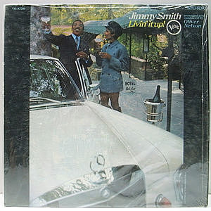 レコード画像:JIMMY SMITH / Livin' It Up!