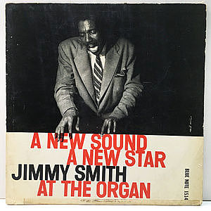 レコード画像:JIMMY SMITH / A New Star A New Sound
