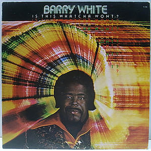 レコード画像:BARRY WHITE / Is This Whatcha Wont?