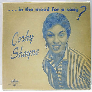 レコード画像:CORKY SHAYNE / ... In The Mood For A Song?