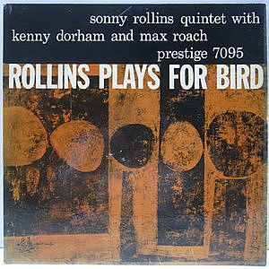 レコード画像:SONNY ROLLINS / Plays For Bird