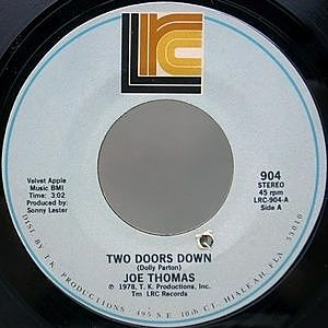 レコード画像:JOE THOMAS / Two Doors Down / Here I Come