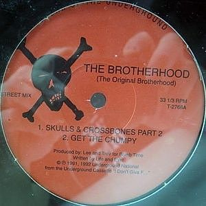 レコード画像:BROTHERHOOD / Skulls & Crossbones Part 2