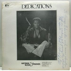レコード画像:George Ross & Friends / Dedications