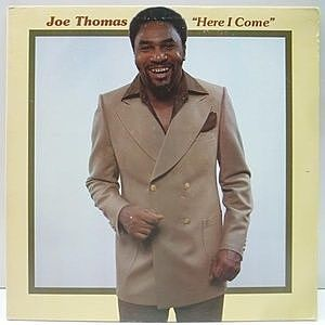 レコード画像:JOE THOMAS / Here I Come