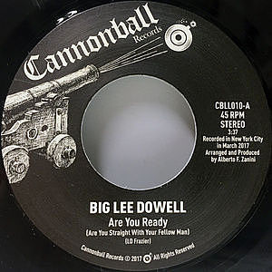 レコード画像:BIG LEE DOWELL / Are You Ready / Interview