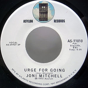 レコード画像:JONI MITCHELL / You Turn Me On, I'm A Radio / Urge For Going