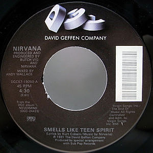 レコード画像:NIRVANA / Smells Like Teen Spirit