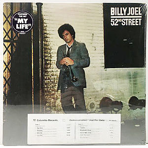 レコード画像:BILLY JOEL / 52nd Street