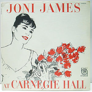 レコード画像:JONI JAMES / At Carnegie Hall