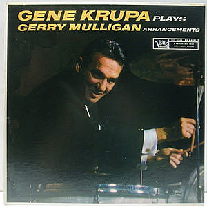 レコード画像:GENE KRUPA / Gene Krupa Plays Gerry Mulligan Arrangements