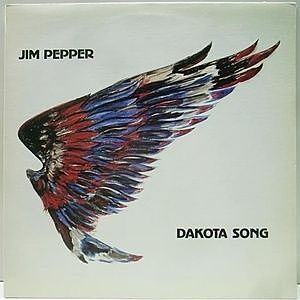 レコード画像:JIM PEPPER / Dakota Song