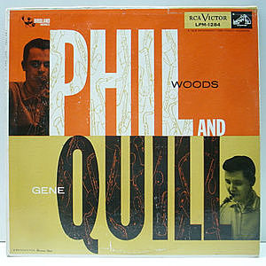レコード画像:PHIL WOODS / GENE QUILL / Phil And Quill