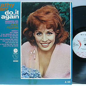 レコード画像:KATHY BARR / Do It Again