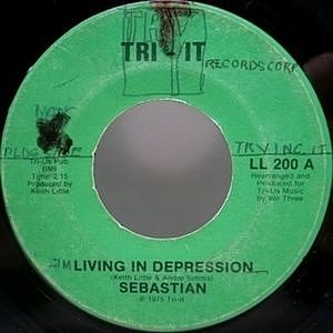 レコード画像:SEBASTIAN / Living In Depression / Do It For Someone (You Love)