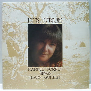 レコード画像:NANNIE PORRES / It's True (Nannie Porres Sings Lars Gullin)