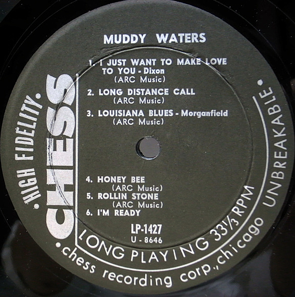 Muddy Waters The Best Of Muddy Waters Lp Chess