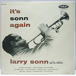 レコード画像:LARRY SONN / It's Sonn Again