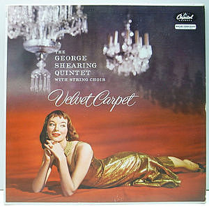 レコード画像:GEORGE SHEARING / Velvet Carpet