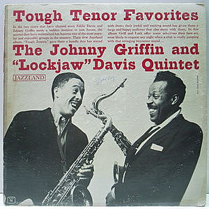 レコード画像:JOHNNY GRIFFIN / EDDIE DAVIS / Tough Tenors