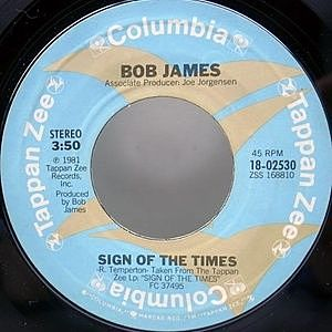 レコード画像:BOB JAMES / Sign Of The Times / Enchanted Forest