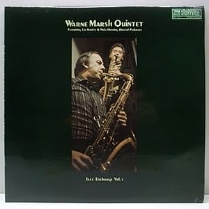 レコード画像:WARNE MARSH / Jazz Exchange Vol.1