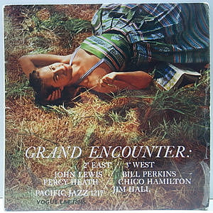 レコード画像:JOHN LEWIS / BILL PERKINS / JIM HALL / Grand Encounter