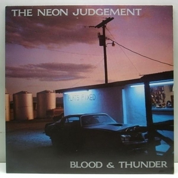 レコードメイン画像:89' アナログ!! THE NEON JUDGEMENT Blood & Thunder / NEW WAVE
